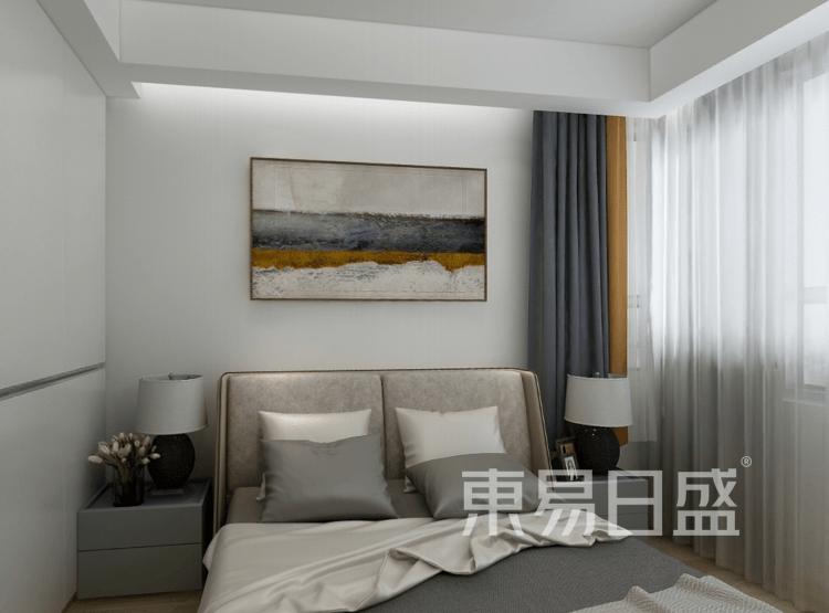 奥体城畅园-美式卧室装修效果图