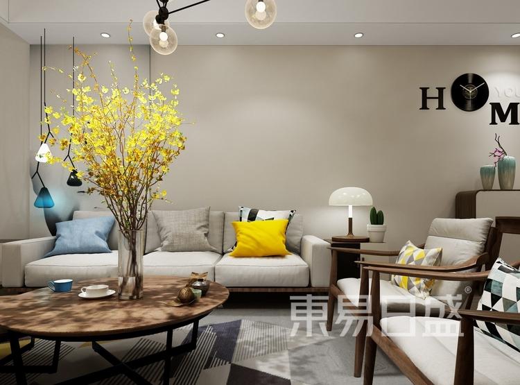 现代简约-客厅-交流空间