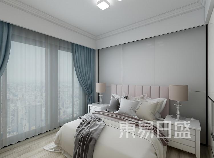 新田园一组团-北欧风格卧室装修效果图