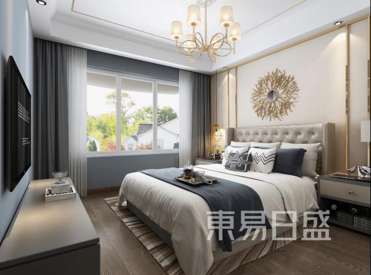 四季原著二期-现代轻奢卧室装修效果图
