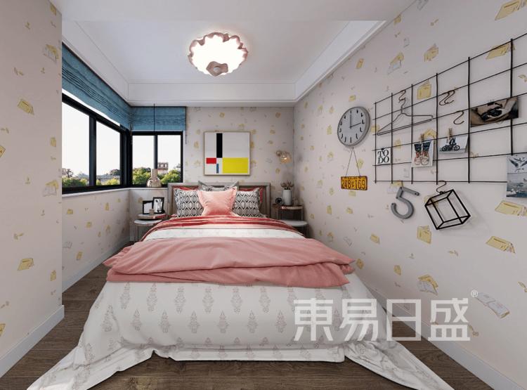 米莉莎花苑-现代简约卧室装修效果图