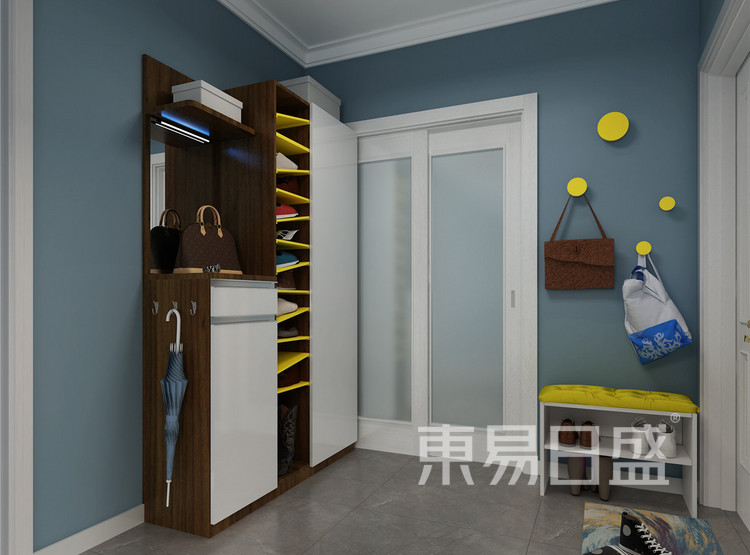 门厅 新古典家装设计 100平米