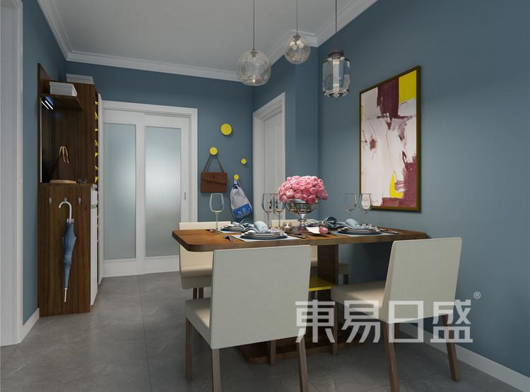 餐厅 新古典家装设计 100平米