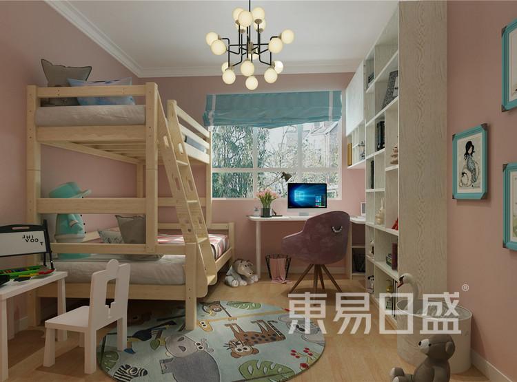 儿童房 新古典家装设计 100平米
