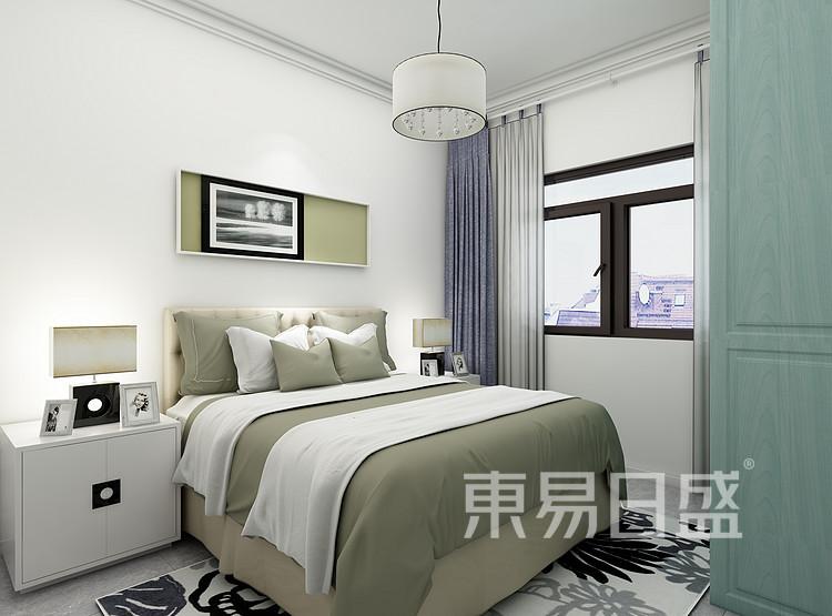 南山柠府现代简约94㎡卧室装修效果图