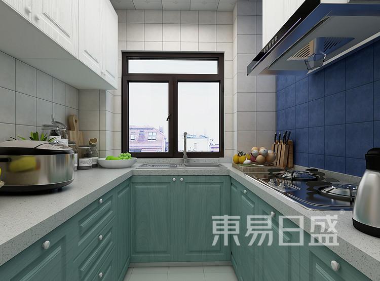 南山柠府现代简约94㎡厨房装修效果图