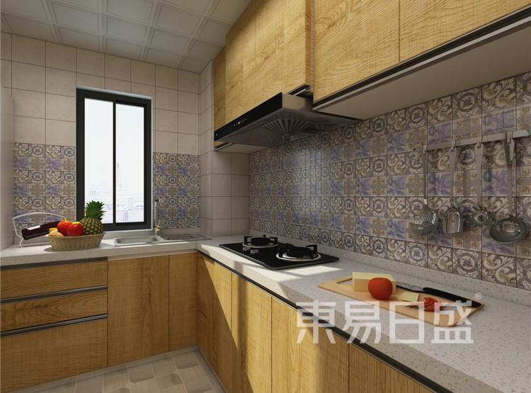 厨房 混搭风格装修 130平米