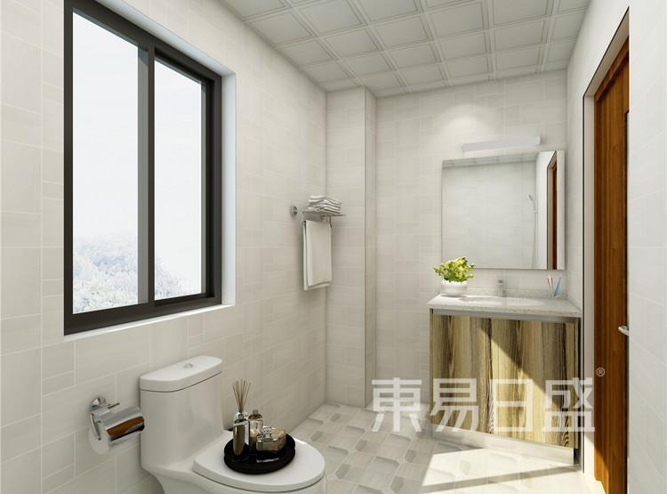 卫生间 混搭风格装修 130平米
