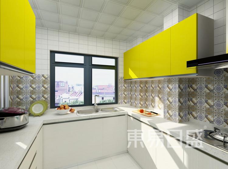 伟业公馆 混搭风格效果图 90 厨房
