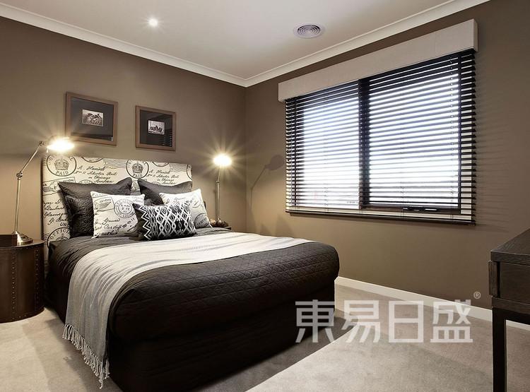 九润公寓-现代简约风格-卧室效果图