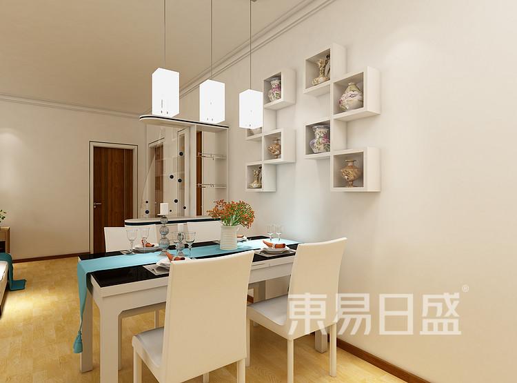 阳光城丽景湾现代简约118㎡餐厅装修效果图