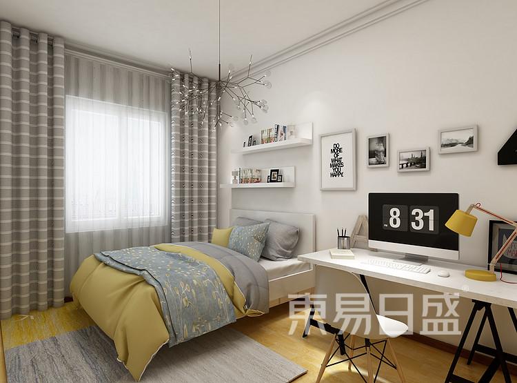 阳光城丽景湾现代简约118㎡儿童房装修效果图
