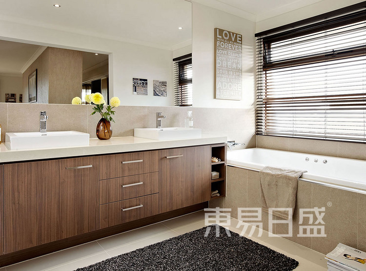 九润公寓-现代简约风格-卫生间效果图