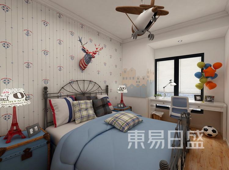 金科天籁城  简美风格效果图  130 卧室