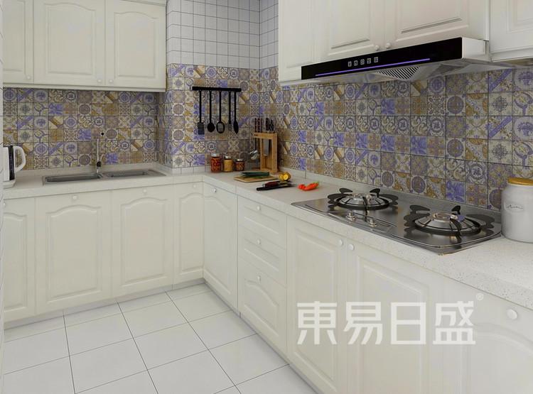 金科天籁城  简美风格效果图  130 厨房