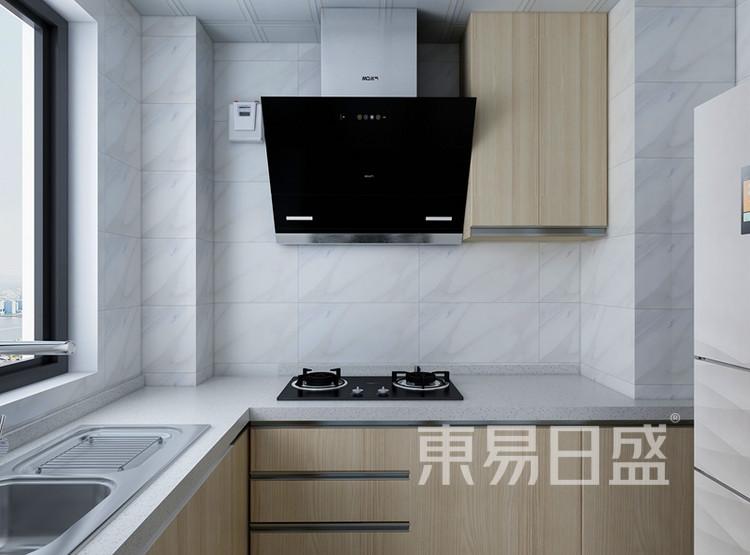 信保春风十里101平米装修案例:现代简约风格厨房