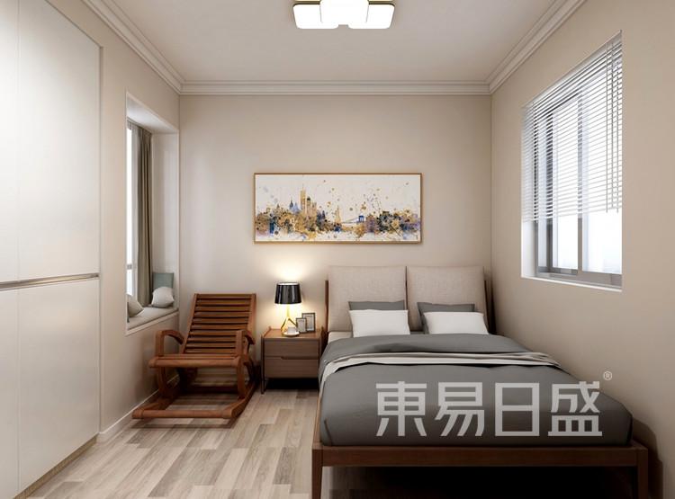 信保春风十里101平米装修案例:现代简约风格卧室