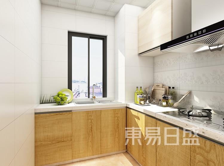 阳光国际-新中式风格-厨房效果图