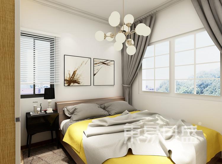 方正御星-新古典风格-卧室效果图