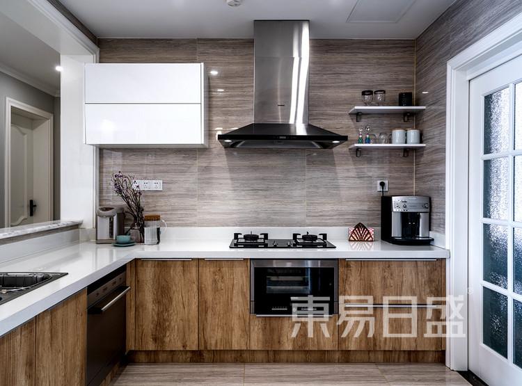 建发天府鹭洲-140㎡-现代美式-厨房
