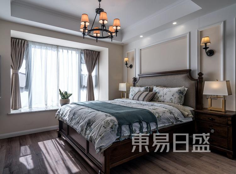 建发天府鹭洲-140㎡-现代美式-卧室