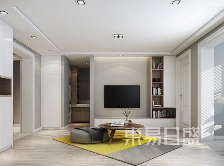 现代北欧客厅