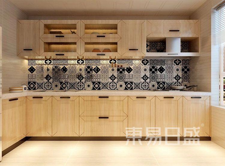 重庆金辉中央名著96㎡北欧风格——厨房效果图