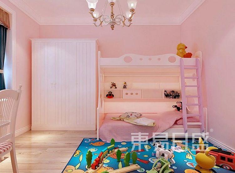 重庆金辉中央名著96㎡北欧风格——儿童房效果图