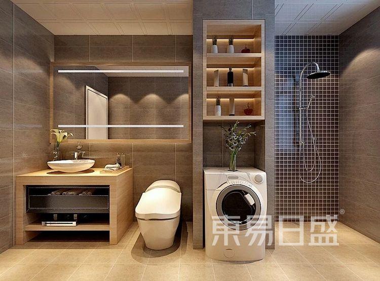 重庆金辉中央名著96㎡北欧风格——卫生间效果图