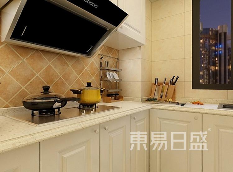 天齐雅诚名筑-厨房装修效果图