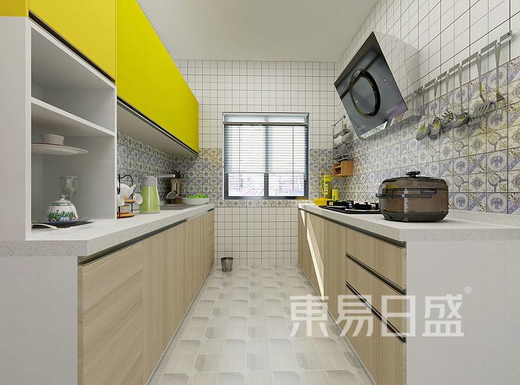 九龙仓年华里现代简约118㎡厨房装修效果图
