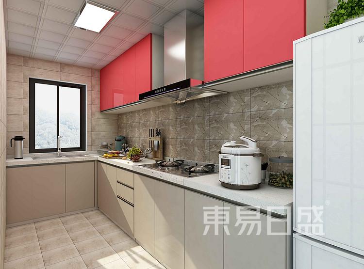 龍湖小區現代簡約廚房