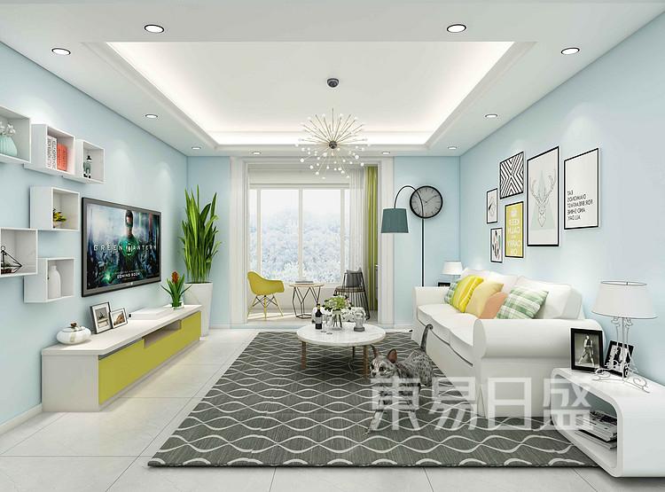 龍湖小區現代簡約客廳