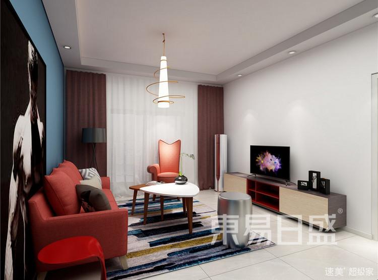 非凡领域新古典风格客厅