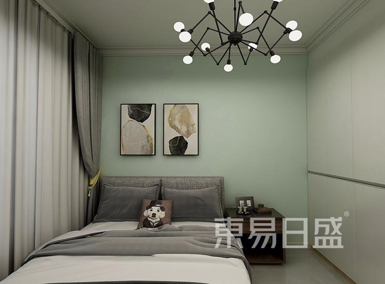 万达天樾  148平米  现代简约风格效果图  卧室