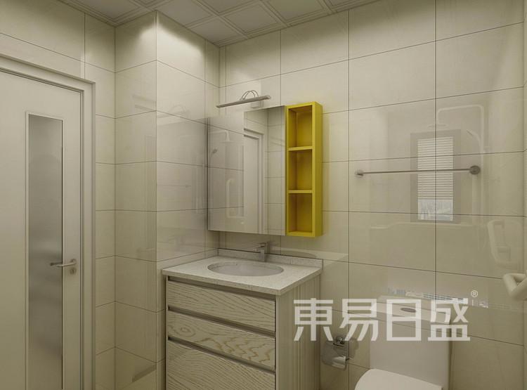 万达天樾  148平米  现代简约风格效果图  卫生间