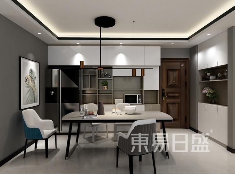 现代风格案例:现代风格餐厅