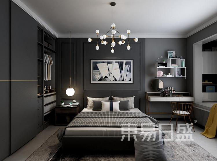 现代风格案例:现代风格卧室