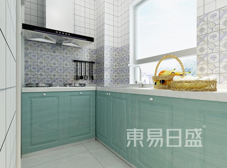 现代简约风格装修效果图-厨房
