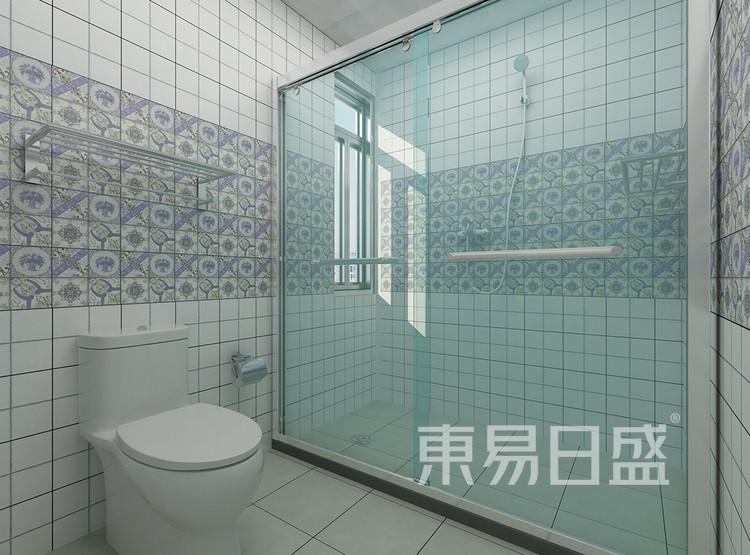 现代简约风格装修效果图-卫生间