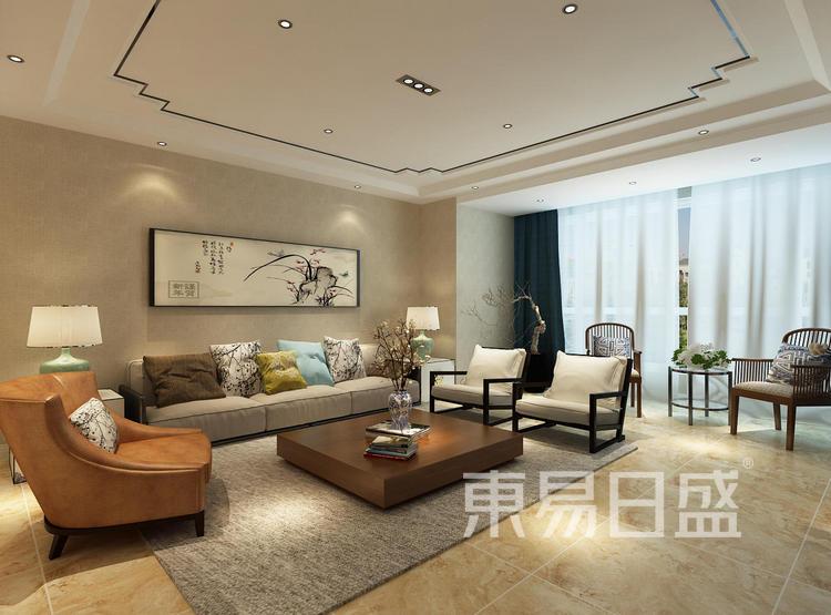 客厅 新中式 150层