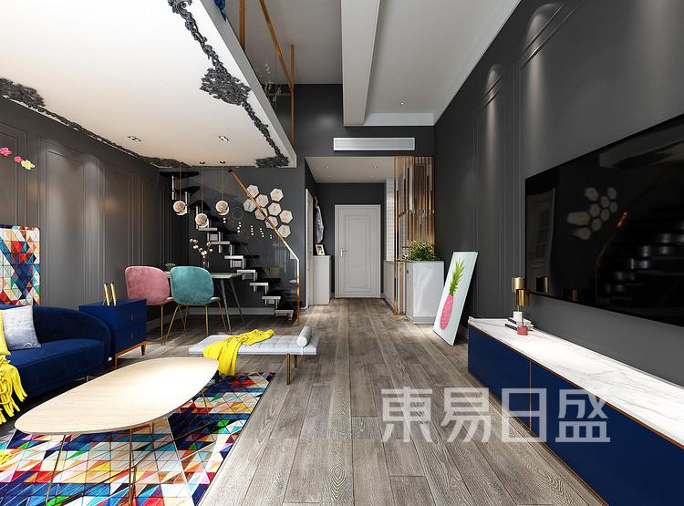 CBD首府-客厅装修效果图