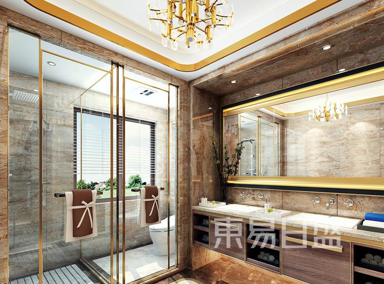 翡翠山装修设计案例-卫生间装修效果图