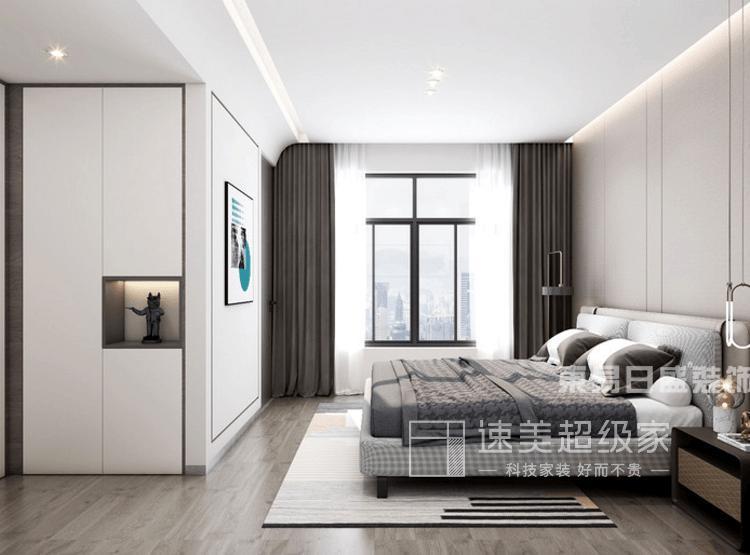 三居室现代轻奢房子装修图