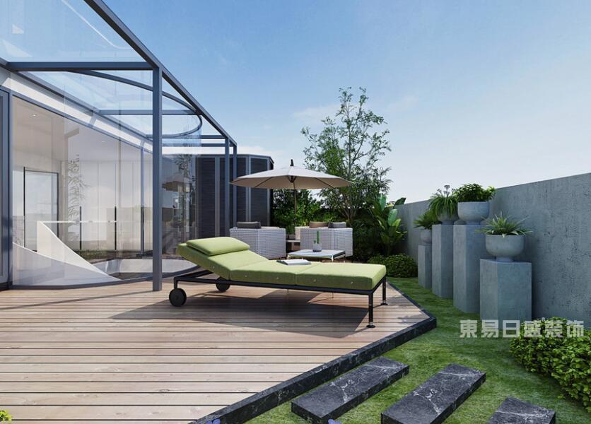 顶层露台装修布局,轻松打造私密花园