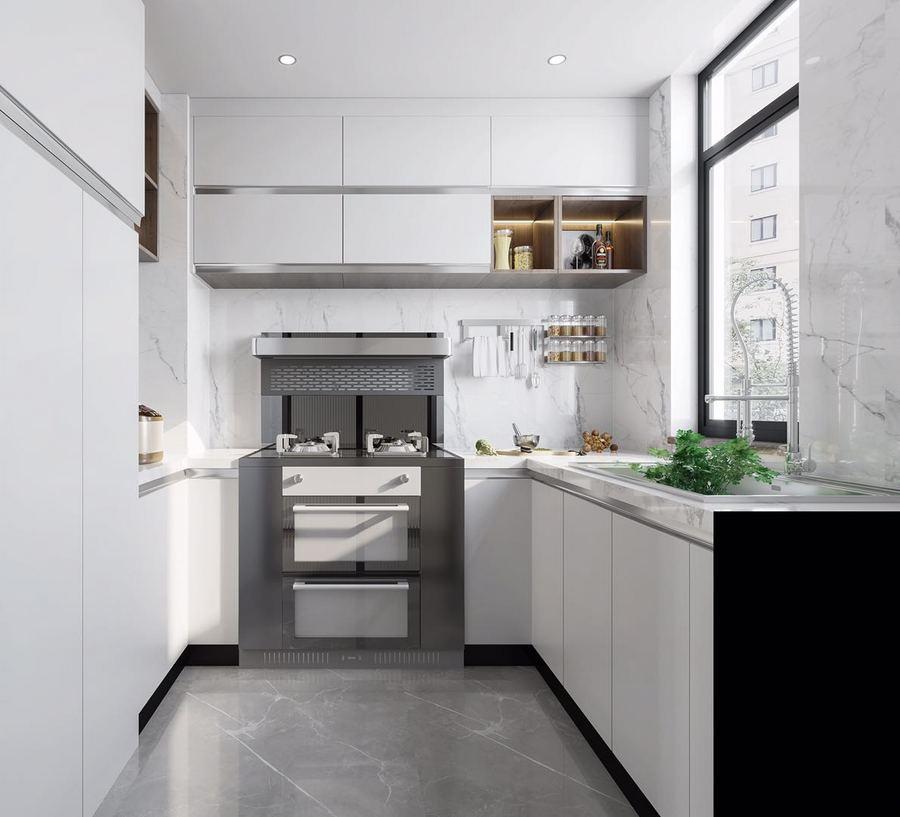 开放式厨房装修都有哪些技巧和注意事项?