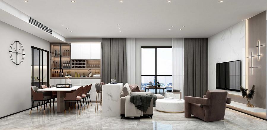 现代简约风格适合什么人群?把温暖简洁融进家里吧!