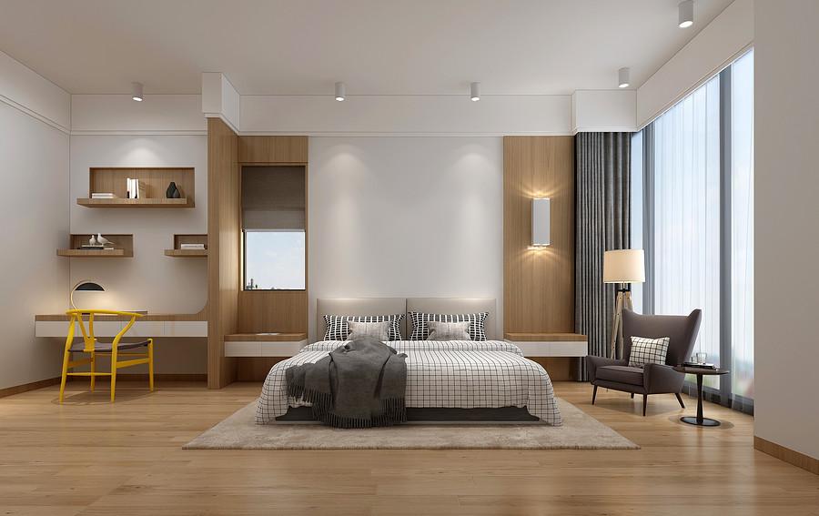 来听听东莞新房装修公司给大家分享得卧室装修八大细节