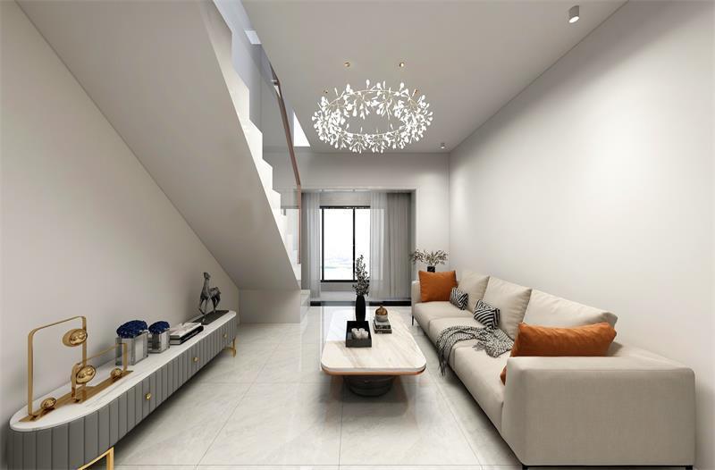 现代简约客厅装修效果图1