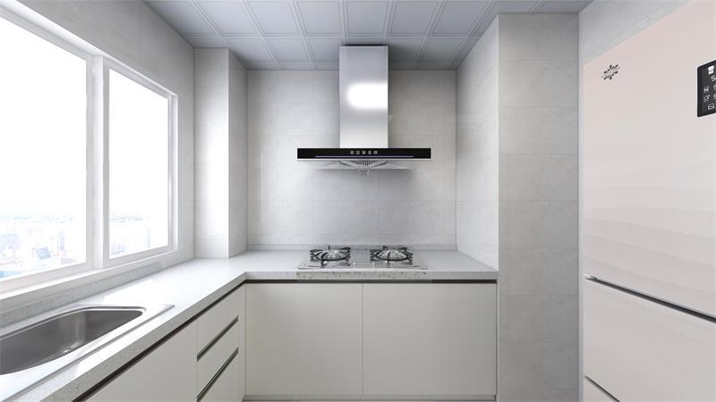现代简约风格装修效果图 - 厨房